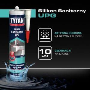 Tytan Professional Silikon sanitarny UPG
